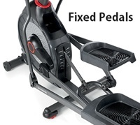 fixed pedals