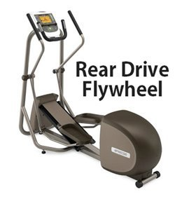 rear drive flywheel precor elliptical