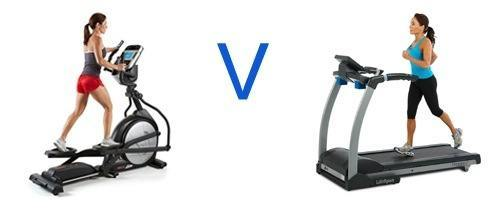 Elliptical Trainer v Treadmill