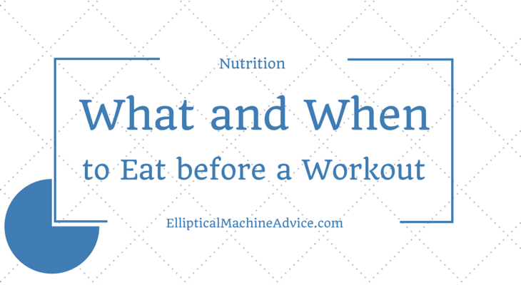 nutrition before exercise
