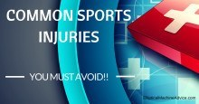 common sports injuries to avoid