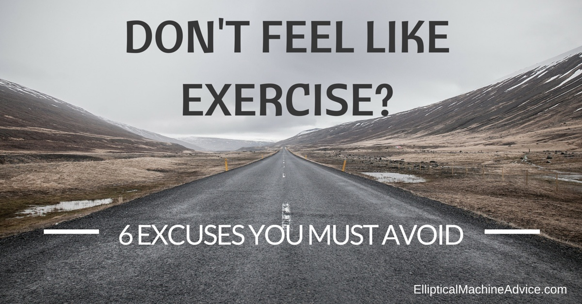 exercise excuses to avoid
